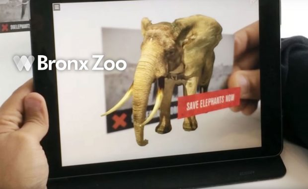 Bronx Zoo 96 Elephants Augmented Reality App