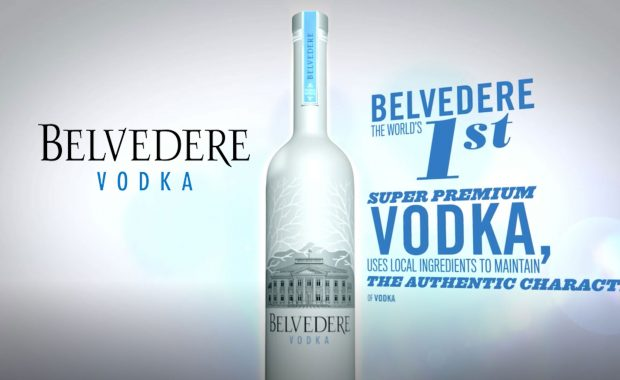 Belvedere Vodka Master Class Animations